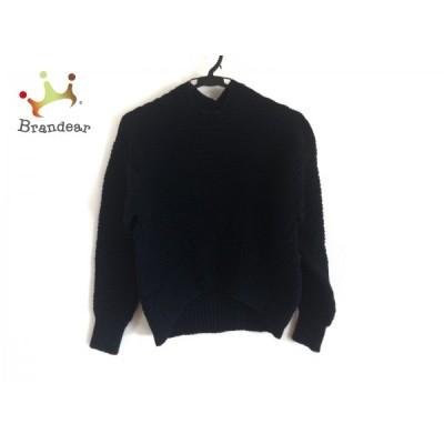 ドゥロワー Drawer 長袖セーター サイズ2 M レディース - ダークネイビー クルーネック 新着 20200810