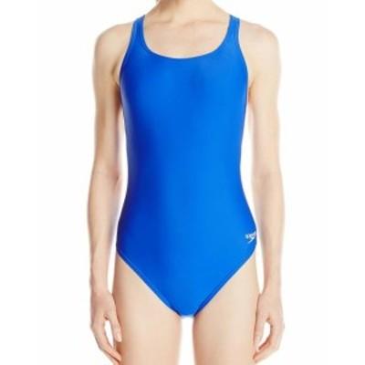 speedo スピード スポーツ用品 スイミング Speedo NEW Sapphire Blue Womens Size 6 One-Piece Open-Back Solid Swimwear #892