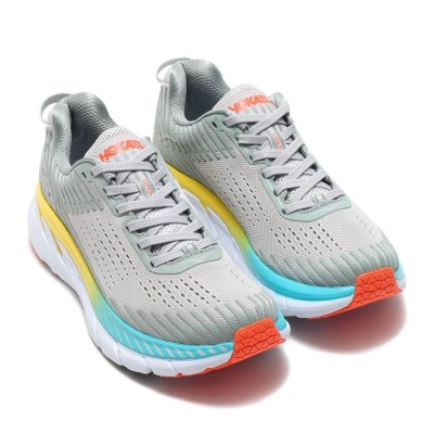 ホカオネオネ HOKA ONE ONE HOKA ONEONE CLIFTON 5 (GRAY)