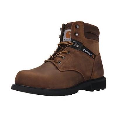 海外取寄品--Carhartt 6 in. Brown Work Boot Safety Toe 12 M