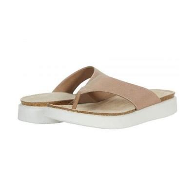 ECCO エコー レディース 女性用 シューズ 靴 サンダル Corksphere Thong - Dune
