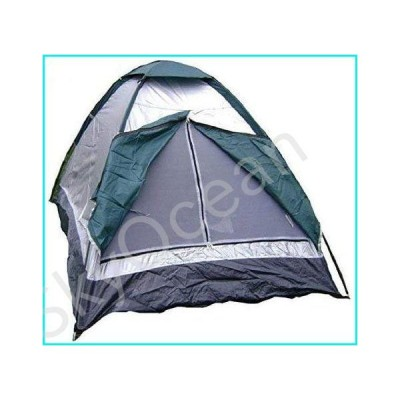Jin-Siu Tent for Camping Instant Cabin Tent for Camping Outdoor Single Layer for 2 People Use Tents Polyester Waterproof Tents Net Yarn Vent