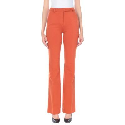 トゥルー ロイヤル TRUE ROYAL パンツ 赤茶色 38 レーヨン 67% / ナイロン 28% / ポリウレタン 5% パンツ