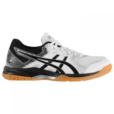 アシックス Asics レディース パンプス シューズ・靴 Gel Rocket 9 Court Shoes White/Silver