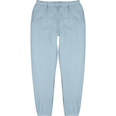 レス ティエン Les Tien メンズ スウェット・ジャージ ボトムス・パンツ Blue cotton sweatpants Blue