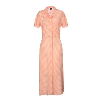 アスペジ ASPESI ロングワンピース&ドレス イエロー 40 レーヨン 100% ロングワンピース&ドレス