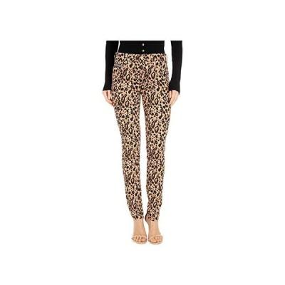 Versace Jeans Couture Skinny Fit Leopard Jeans in Lark レディース ジーンズ Lark