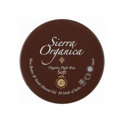 シエラオーガニカ S&O オーガニックハーブワックス ソフト 50ml Sierra Organica