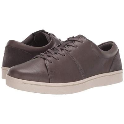 クラークス Kitna Vibe メンズ スニーカー 靴 シューズ Grey Leather