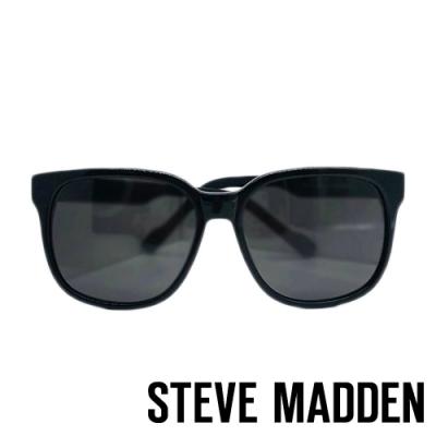 STEVE MADDEN-MOTTAR 品牌時尚抗UV太陽眼鏡-黑白色
