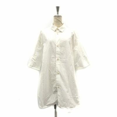 【中古】ドゥルカマラ Dulcamara シャツ 半袖 F 白 ホワイト /AK31 レディース