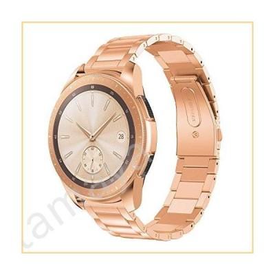 BaiHui Galaxy Watch 42mm/アクティブ/アクティブ2 40mm 44mm バンド 20mm ソリッドステンレススチール時計バンド