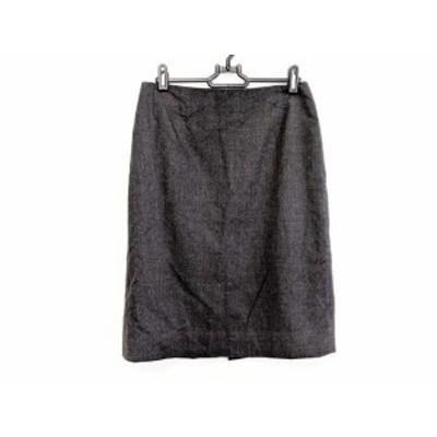 ニジュウサンク 23区 スカート サイズ38 M レディース チャコールグレー Vingt-trois arrondissements【中古】