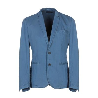 アントニー モラート ANTONY MORATO テーラードジャケット ブルーグレー 52 コットン 59% / 麻 41% テーラードジャケット