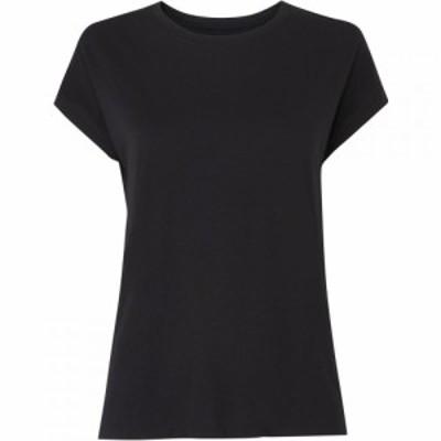 ホイッスルズ Whistles レディース Tシャツ トップス Minimal Cap Sleeve Tee Black