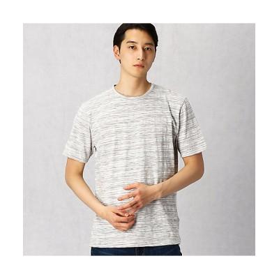 <ARTISAN MEN(Men)/アルチザン・メン> スプレープリントスラブTシャツ(5942TP01) グレー【三越伊勢丹/公式】