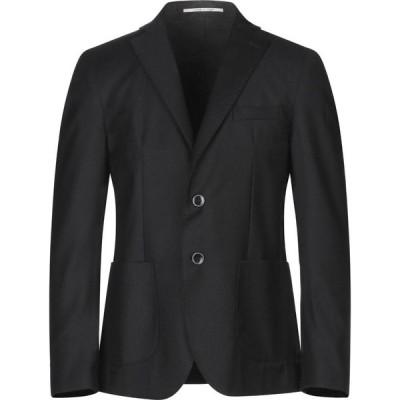 エクシビット EXIBIT メンズ スーツ・ジャケット アウター blazer Black