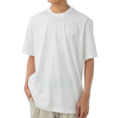 ワイスリー Tシャツ カットソー メンズ Y-3 半袖 クルーネック ロゴ Mサイズ