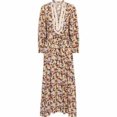 トリー バーチ Tory Burch レディース ワンピース ミドル丈 ワンピース・ドレス floral cotton midi dress Reverie
