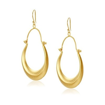 Satya Jewelry Gold Chandelier Hoop Earrings