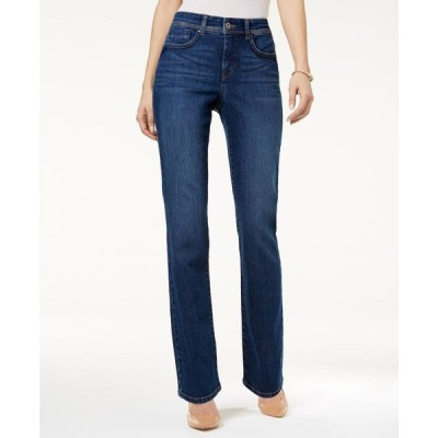 スタイル&コー Style & Co レディース ジーンズ・デニム ボトムス・パンツ Petite Tummy-Control Straight-Leg Jeans Astor