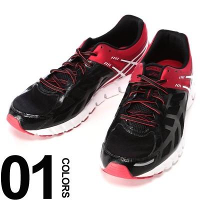アシックス スニーカー 靴 大きいサイズ メンズ サカゼン ローカット ブラック×レッド ASICS GEL-LYTE33