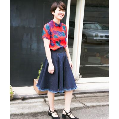 Divinique / 【SALE】【MONAME/モナーム】 Circular Skirt/サーキュラースカート WOMEN スカート > デニムスカート
