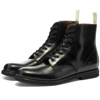 コモン プロジェクト Common Projects メンズ ブーツ コンバットブーツ シューズ・靴 Standard Combat Boot Black