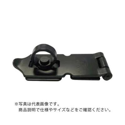 NewHikari 鉄ストロング掛金 艶消黒 60mm (SH-LK60BK) 清水(株)