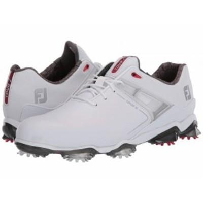 FootJoy フットジョイ メンズ 男性用 シューズ 靴 スニーカー 運動靴 Tour X White/Red Trim【送料無料】
