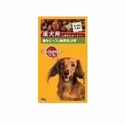 【5/7-5/11還元祭クーポン適用】 P101 ペディグリー 成犬用 ビーフ&野菜 130g
