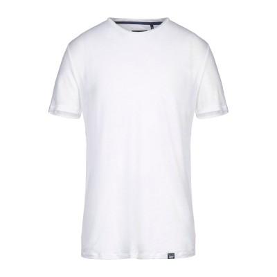 ウールリッチ WOOLRICH T シャツ ホワイト S リネン 100% T シャツ