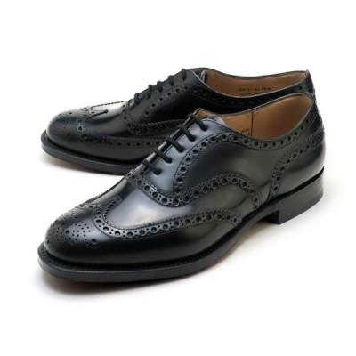 チャーチ バーウッド ポリッシュドバインダー ブラック ビジネスシューズ 紳士靴 メンズ