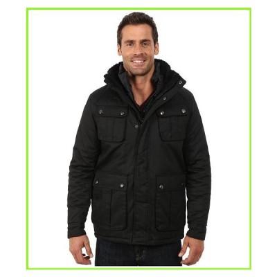 Steve Madden Cotton Wax Coted Jacket スティーブマッデン Coats & Outerwear MEN メンズ Black