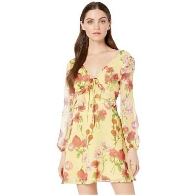 ビービーダコタ BB Dakota レディース ワンピース ワンピース・ドレス Botanical Bae Dress Yellow Iris