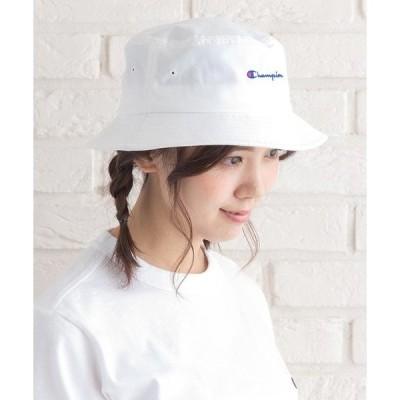 帽子 ハット 【CHAMPION/チャンピオン】スクリプトロゴバケット/BUCKET HAT