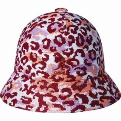 カンゴール Kangol メンズ ハット バケットハット 帽子 Carnival Casual Bucket Hat Camo Mix Peach Pink