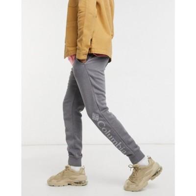 コロンビア Columbia メンズ ジョガーパンツ ボトムス・パンツ Csc Logo Fleece Jogger グレー