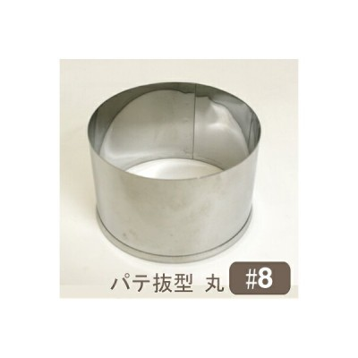 オープン記念ポイント5倍 パテ抜型丸 #8