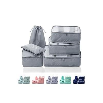 トラベルポーチ - Asahi ji旅行収納ポーチ アレンジケース 旅行圧縮バッグ パッキングオーガナイザー バッグインバッグ パッキン キューブ ラ