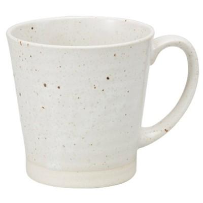 マグカップ 和食器 / 楽釉白 軽量マグ 寸法: Φ8.8 x H8.8cm 340cc