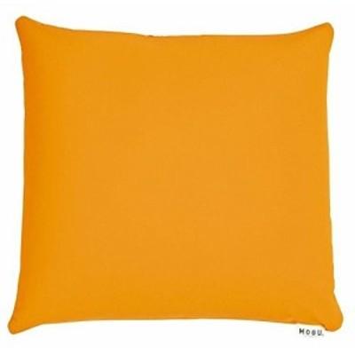 MOGU 体圧分散に優れた四角いクッション カバー オレンジ