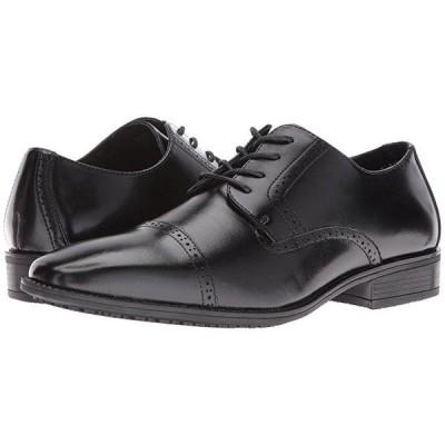 Stacy Adams Abbott Slip Resistant Cap Toe Oxford メンズ オックスフォード Black