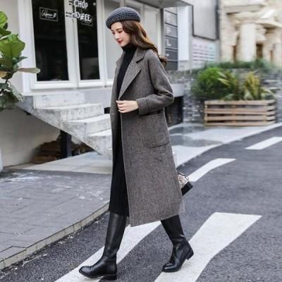 ベーシック カジュアル ロングコート シンプル アウター トレンチコート チェスターコート ミセス フェミニン きれいめ 襟つき ミディアム 羽織 可