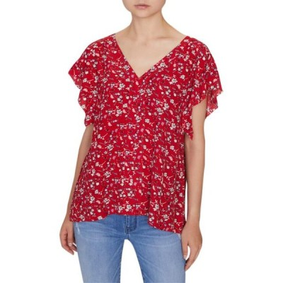 ユニセックス 衣類 トップス Sanctuary | Countryside Floral Blouse | Red ブラウス&シャツ