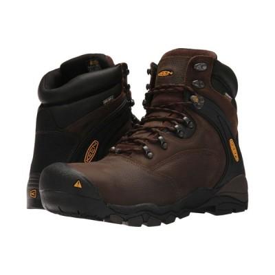 キーン Keen Utility メンズ ブーツ シューズ・靴 Louisville 6' Steel Toe Cascade Brown