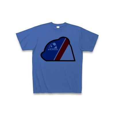 パンダロゴ(トリコロール) Tシャツ(ミディアムブルー)