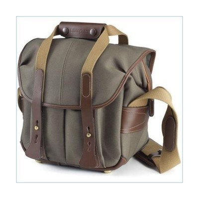 Billingham 107 Bag for DSLR Camera with Lens, Flash and Accessories, Sage FibreNyte with Chocolate Leather Trim並行輸入品