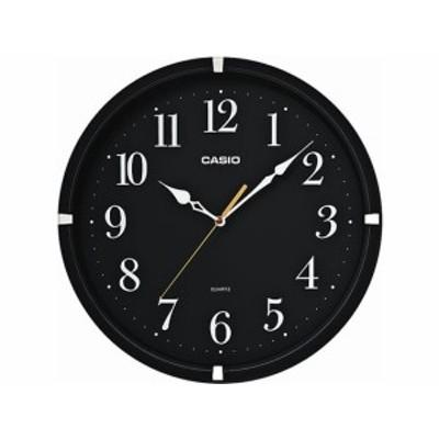 壁掛け時計 ブラック カシオ計算機 IQ-88-1JF