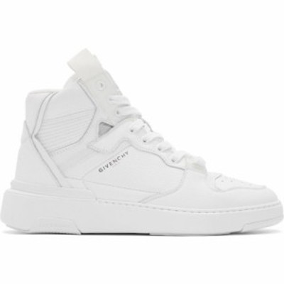 ジバンシー Givenchy メンズ スニーカー シューズ・靴 White Wing High Sneakers White